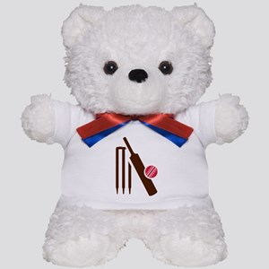 Cricket bat stumps Teddy Bear