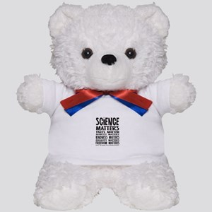 Science Matters Facts Matter Teddy Bear