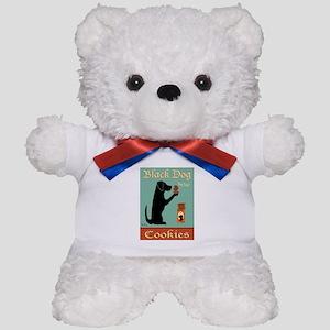 Black Dog Cookies Teddy Bear