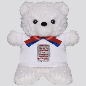 No No The Adventures First - L Carroll Teddy Bear