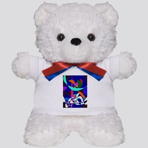 White Waves Teddy Bear