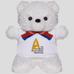 Star Trek - Normal Parameters Teddy Bear