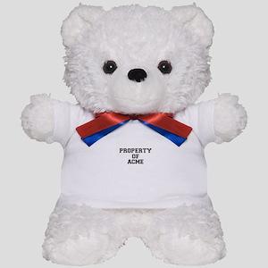 Property of ACME Teddy Bear