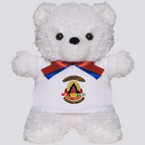 38th Support Group w SVC Ribbon Teddy Bear