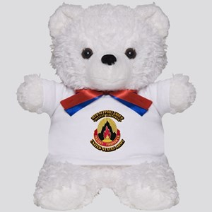 38th Support Group with Text Teddy Bear