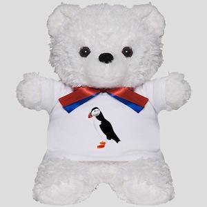 Pretty Puffin Teddy Bear