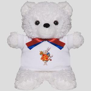 ALICE - THE WHITE RABBIT Teddy Bear