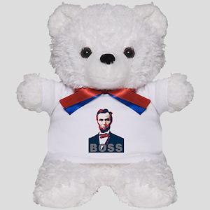 Lincoln Boss Teddy Bear