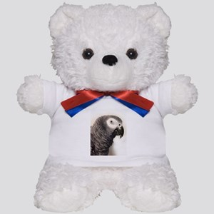 African Grey Parrot Teddy Bear