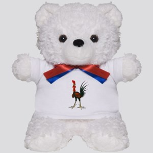 Crazy Rooster Teddy Bear