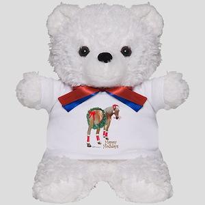 Christmas Draft Horse Belgian Teddy Bear