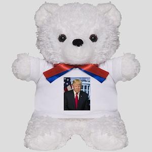 Official Presidential Portrait Teddy Bear