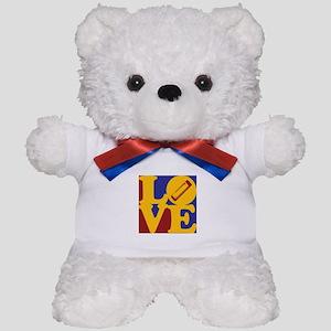 Harmonica Love Teddy Bear
