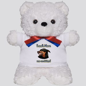 Doberman Humor II Teddy Bear