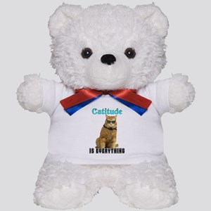 Catitude Teddy Bear