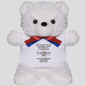 Funny Rider's Prayer Teddy Bear