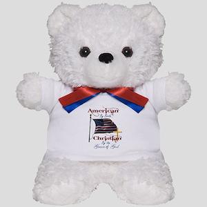 American by Birth Christian By Grace of God Teddy