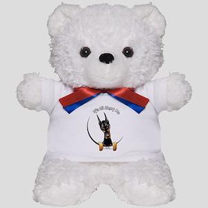 Doberman IAAM Teddy Bear