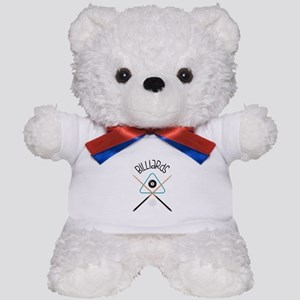 Billiards Teddy Bear