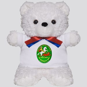 Ethiopia Beer Label 1 Teddy Bear