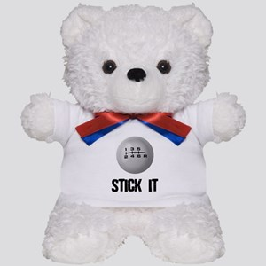 Import 6 Speed Stick It Teddy Bear