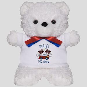 Daddys Pit Crew Teddy Bear