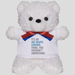Air Traffic Control Teddy Bear