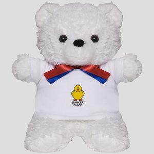 Banker Chick Teddy Bear
