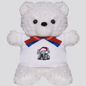 Holiday Elephant Teddy Bear