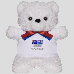 50% Australian 50% Caymanian 100% Aweso Teddy Bear