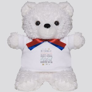 Joshua 1:9 Bible Verse Teddy Bear