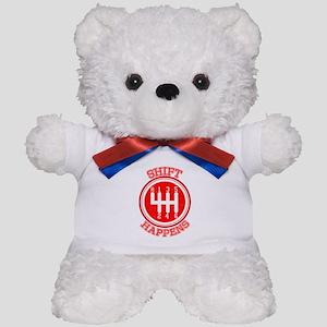 Shift Happens - Car Lover Teddy Bear