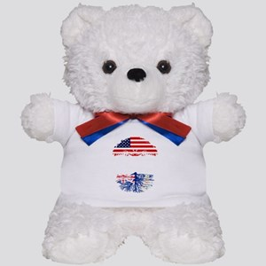 American Grown With Caymanian Roots Teddy Bear