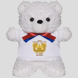 Army - Emblem - CWO Retired Teddy Bear