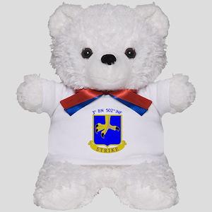 3rd BN 502nd INF Teddy Bear