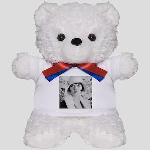 louise brooks silent movie star Teddy Bear