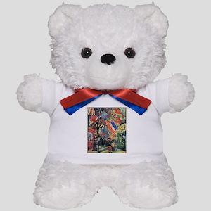Van Gogh 14 July In Paris Teddy Bear
