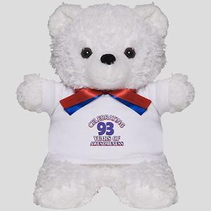 Celebrating 93 Years Teddy Bear