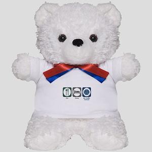 Eat Sleep Air Traffic Control Teddy Bear
