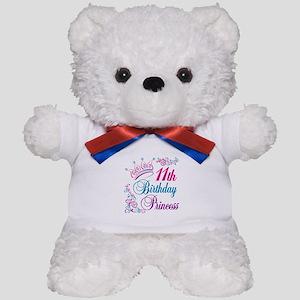 11th Birthday Princess Teddy Bear