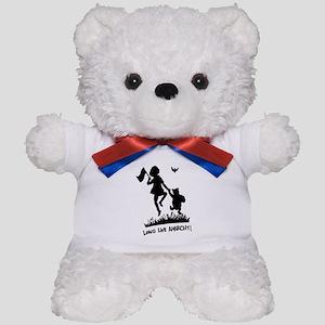 Long Live Anarchy Teddy Bear