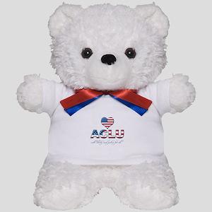 I <3 ACLU Teddy Bear