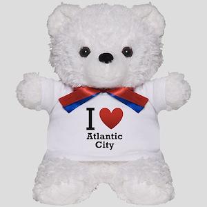 I Love Atlantic City Teddy Bear