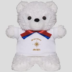Adventure Awaits Teddy Bear