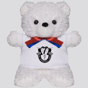 7th Special Forces - DUI - No Txt Teddy Bear