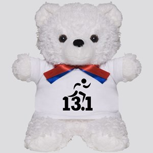 Half marathon runner Teddy Bear
