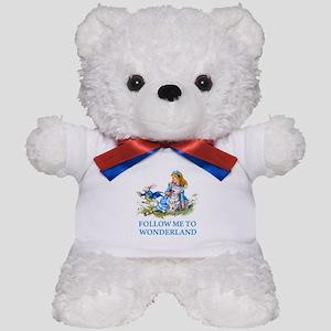FOLLOW ME TO WONDERLAND Teddy Bear