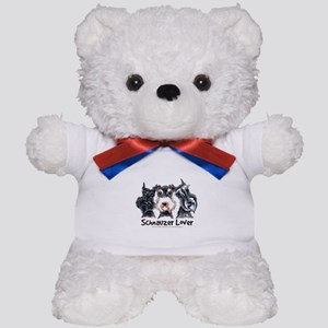 Miniature Schnauzer Lover Teddy Bear