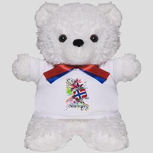Flower Norway Teddy Bear