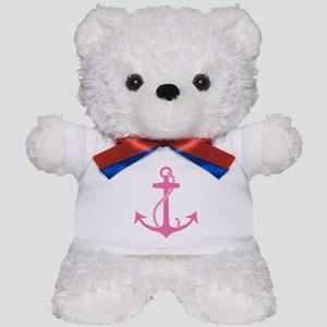 Pink Anchor Teddy Bear